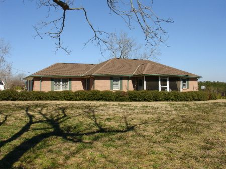 Country Home With 50 Acres : Clayton : Barbour County : Alabama