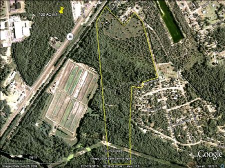 Recreational Tract : Blackshear : Pierce County : Georgia