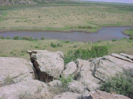 Historic Gibbins Lake Ranch : Logan : Quay County : New Mexico