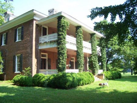 C. 1867 Home, 432 Ac River Frontage : Cartersville : Bartow County : Georgia