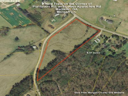 Bank Owned - 8ac Pasture : Madison : Morgan County : Georgia