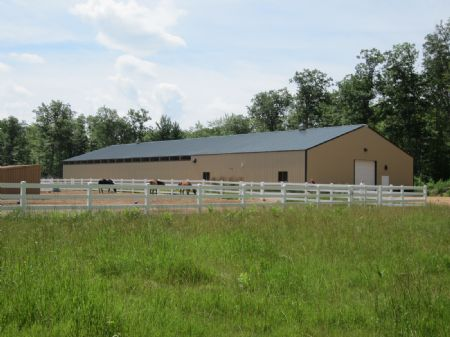 Equine Stable & Indoor Riding Arena : Lac Du Flambeau : Vilas County : Wisconsin