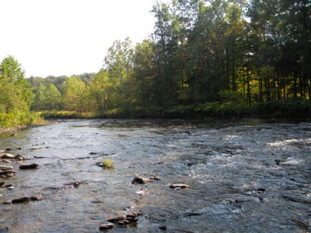 51 Acres Frontage On Fish Creek : Annsville : Oneida County : New York