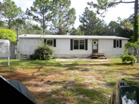 Mh On 5 Acre (cl-269) : Keystone Heights : Clay County : Florida