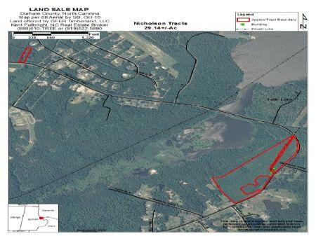 Nicholson Tract  •  27 Acres +/- : Redwood : Durham County : North Carolina
