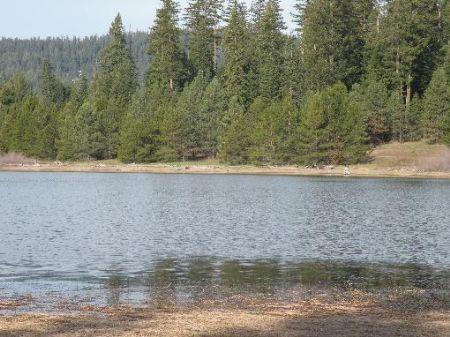 View Of Two Lakes : Ashland : Jackson County : Oregon