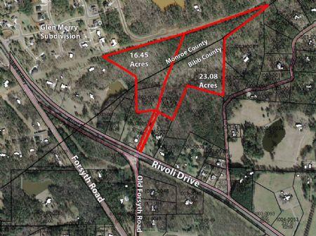 Development Or Estate Lot Tract : Macon : Bibb County : Georgia