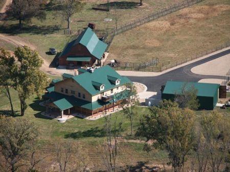 Grand River Frontage Home : Vinita : Mayes County : Oklahoma