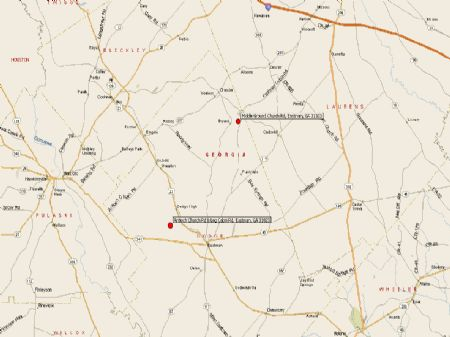 540+ Acres In Two Tracts : Eastman : Dodge County : Georgia