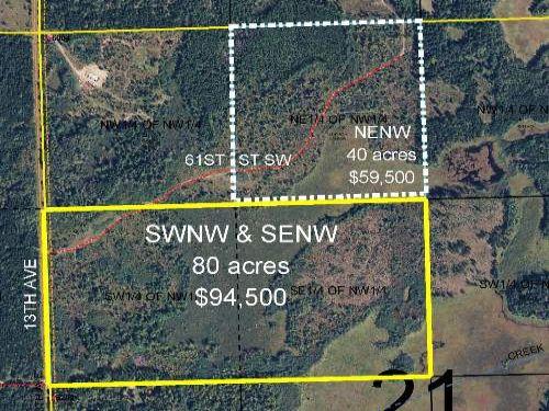 Cass, Loon Lake, 1362921, Swnw&senw : Pequot Lakes : Cass County : Minnesota