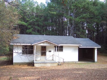 House & 5 Wooded Acres : Cartersville : Bartow County : Georgia