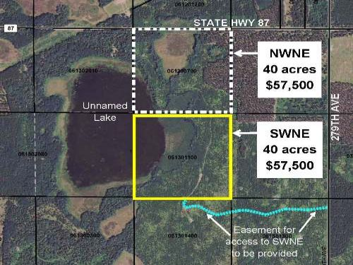 Hubbard, Cw Lake, 1393313, Swne : Nevis : Hubbard County : Minnesota