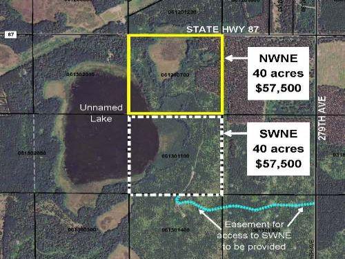 Hubbard, Cw Lake, 1393313, Nwne : Nevis : Hubbard County : Minnesota
