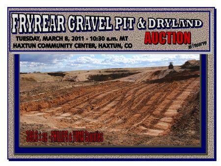 Fryrear Gravel Pit & Dryland : Haxtun : Yuma County : Colorado