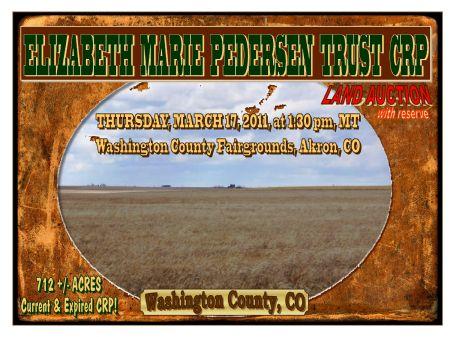 Elizabeth Marie Pedersen Trust Crp : Akron : Washington County : Colorado