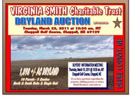 Virginia Smith Charitable Trust Dry : Chappell : Deuel County : Nebraska