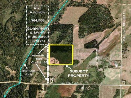 Wadena, Lyons, 1363302, Nesw, 40 Ac : Nimrod : Wadena County : Minnesota