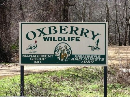 Oxberry Wildlife Equity Interest : Holcomb : Grenada County : Mississippi
