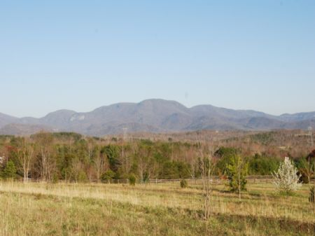 6.4 Ac. With Panoramic Mtn. View : Landrum : Greenville County : South Carolina