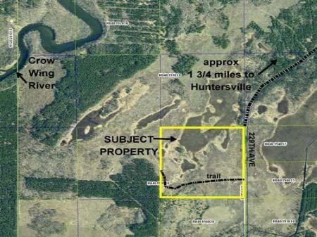 Wadena, Huntersville, 1383319, Nwse : Menahga : Wadena County : Minnesota