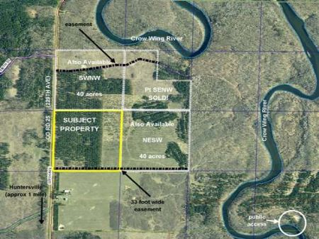 Wadena, Huntersville, 1383305, Nwsw : Menahga : Wadena County : Minnesota