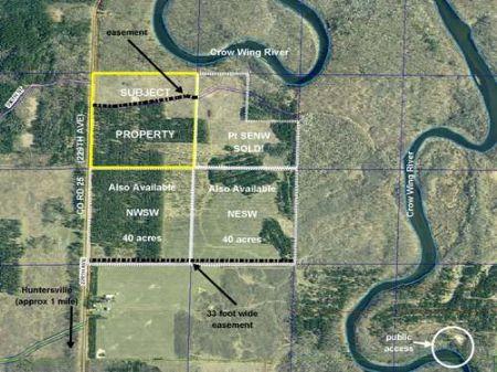 Wadena, Huntersville, 1383305, Swnw : Menahga : Wadena County : Minnesota