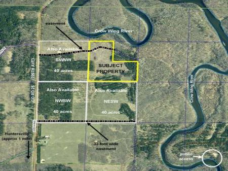 Wadena, Huntersville, 1383305, Senw : Menahga : Wadena County : Minnesota