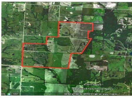 877 Acres In Linn County : Brookfield : Linn County : Missouri