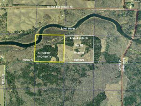 Wadena, Shell River, 1383403, Sesw : Menahga : Wadena County : Minnesota