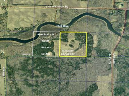 Wadena, Shell River, 1383403, Swse : Menahga : Wadena County : Minnesota