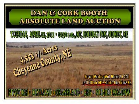 Absolute-pivot, Crp, Pasture & Dry : Sidney : Cheyenne County : Nebraska
