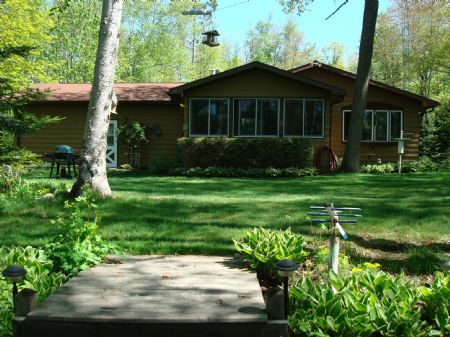 Private Lake And 20 Acres With Home : Lac Du Flambeau : Vilas County : Wisconsin