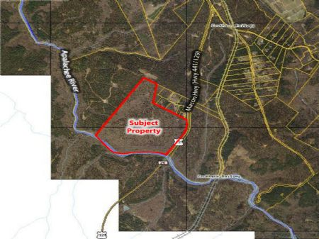 162 Acre River Front Tract : Watkinsville : Oconee County : Georgia