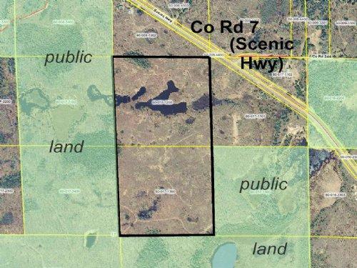 Itasca, Unorganized, 0602517, W2ne : Bigfork : Itasca County : Minnesota