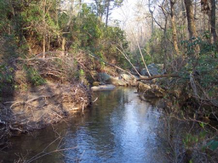 386 Ac. Pond, Creeks, Open & Wooded : Menlo : Chattooga County : Georgia