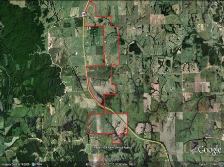 1435 Acre Farm : Glenwood : Schuyler County : Missouri
