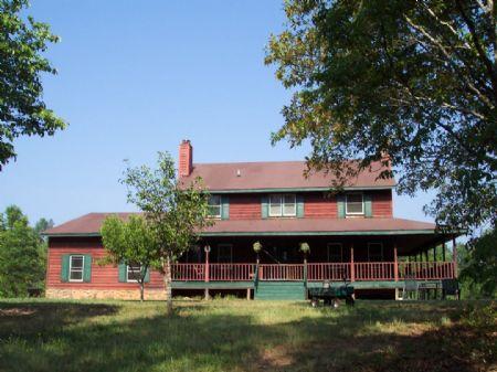 38+/- Acres & 4 Br & 3.5 Ba Home : Adairsville : Bartow County : Georgia