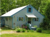 Maine Cabin In The Woods : Springfield : Penobscot County : Maine