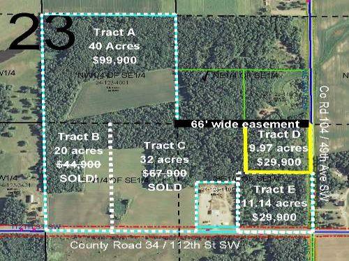 Cass, May, 1343123, Tract D : Pillager : Cass County : Minnesota