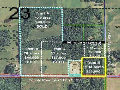 Cass, May, 1343123, Tract E : Pillager : Cass County : Minnesota