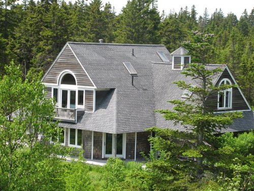 The House At Mack Cove : Roque Bluffs : Washington County : Maine