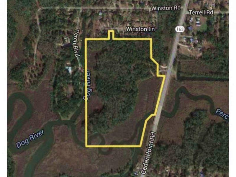 The Perch Creek Dauphin Island Park : Mobile : Mobile County : Alabama