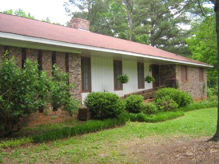 16.38 Ac With Home Free Sholarship : Stephens : Oglethorpe County : Georgia