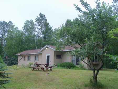 Pickeral Lake Access Home On Cth G : Cloverland : Vilas County : Wisconsin