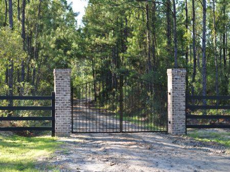 French Quarter Plantation : Huger : Berkeley County : South Carolina