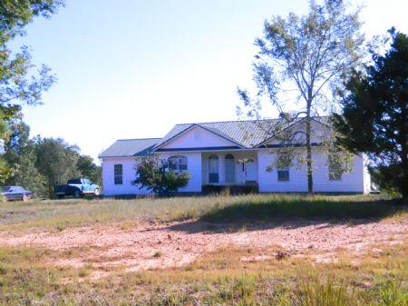34.89 Acres With Nice Home : Lexington : Oglethorpe County : Georgia