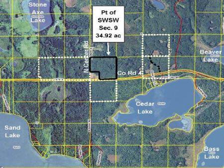 Itasca, Sand Lake, 1482609, Pt Swsw : Spring Lake : Itasca County : Minnesota