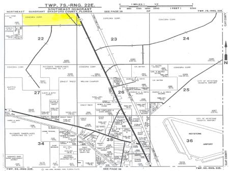 13.86 Acres-lot 1-meng Dairy Farms : Starke : Bradford County : Florida