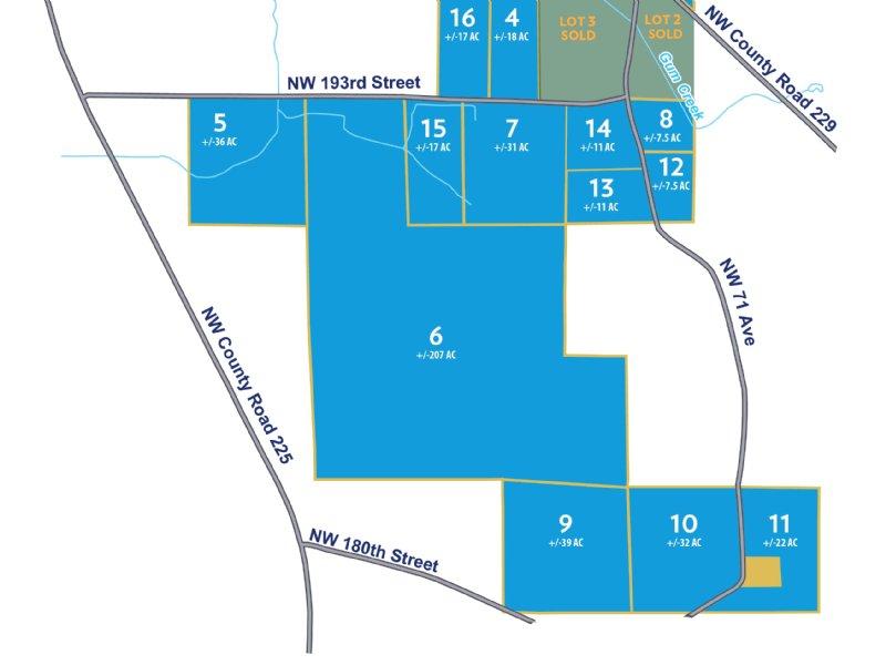 32 Acres-Lot 10 Tall Pines : Starke : Bradford County : Florida