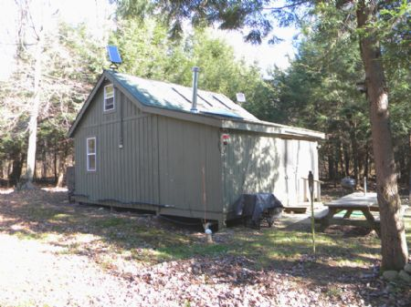 5 Acres Furnished Cabin Hunters : Williamstown : Oswego County : New York